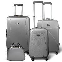 Bagages KINSTON Set 3 valises 4 roues + Vanity Gris clair