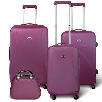 Bagages KINSTON Set 3 valises 4 roues + Vanity Violet