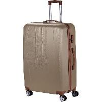 Bagages MANOUKIAN Valise Chariot ABS  4 Roues 72 cm Champagne