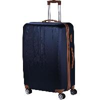 Bagages MANOUKIAN Valise Chariot ABS  4 Roues 72 cm Marine