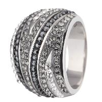 Bague ornee de Cristaux de Swarovski Elements Femme - 48 Colors