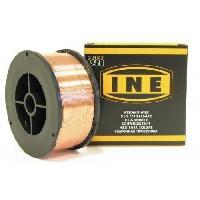 Baguette Tig - Cable De Soudure - Fil De Soudure INE Bobine de fil a souder acier Mig-Mag Ø0.6 mm 5 kg