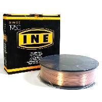 Baguette Tig - Cable De Soudure - Fil De Soudure INE Bobine de fil a souder acier Mig-Mag Ø1 mm 5 kg