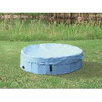 Baignoire De Toilettage TRIXIE Protection de piscine - O 80 cm - Bleu clair - Pour chien