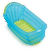 Bain Bebe BAIGNOIRE gonflable - turquoise
