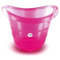 Bain Bebe Baignoire Tub special nouveau-ne - rose translucide