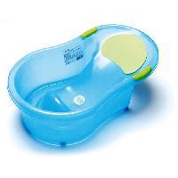 Bain Bebe DBB REMOND Baignoire avec transat integre - Jusqu'a 6 mois - Bleu paillette translucide