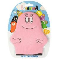 Bain Bebe TINOKOU Gant de toilette Barbapapa couleur est aleatoire -bleu ou rose-