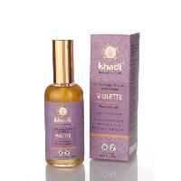 Bain Moussant - Huile De Bain - Galet De Bain - Billes De Bain KHADI Visage et corps - Huile violet peau normale - 100 ml
