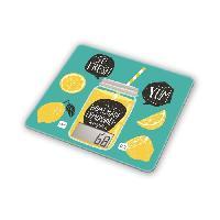 Balance Culinaire Electronique Balance culinaire T1040 Detox Green - LCD - Tare - Plateau en verre - Slim - Vert