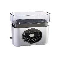 Balance Culinaire Electronique Balance de cuisine mecanique compacte BA22 - 2.2 kg - Bol 0.7 L - Silver