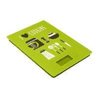Balance Culinaire Electronique FRANDIS Balance de cuisine rectangulaire digitale - Vert