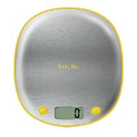 Balance Culinaire Electronique TERRAILLON Balance MACARON INOX CITRON - Electronique - Plateau inox - 5 kg - LCD - Tare - Conversion g - ml - lb.oz - fl.oz