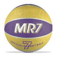 Balle - Boule - Ballon Basket MR7 - Jaune et Violet