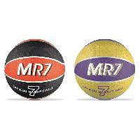Balle - Boule - Ballon Basket MR7 - Noir et Jaune ( Modele aléatoire) - Mondo