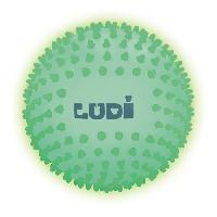 Balle - Boule - Ballon LUDI Balle Bébé Sensorielle Phosphorescente 6 m+ Diametre 15 cm