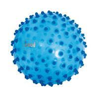 Balle - Boule - Ballon LUDI Balle Sensorielle Bleu - Diametre 20 cm