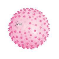 Balle - Boule - Ballon LUDI Balle Sensorielle Rose - Diametre 20 cm
