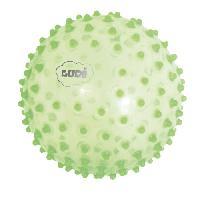 Balle - Boule - Ballon LUDI Balle Sensorielle Vert - Diametre 20 cm