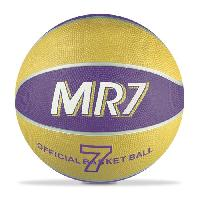 Balle - Boule - Ballon MONDO Ballon de Basket MR7 Jaune et Bleu