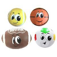 Balle - Boule - Ballon STAMP Pack 4 Balles En Mousse