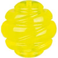 Balle - Frisbee Balle Sporting o 6 cm - Jaune - Pour chien