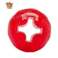 Balle - Frisbee Balle super dure M - Jouet en caoutchouc 6.3cm - Pour chien