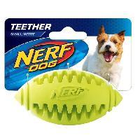 Balle - Frisbee Ballon oval a lancer ou a machouiller S - Bleu - Pour chien