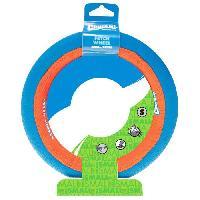 Balle - Frisbee CHUCKIT! Jouet Fetch wheel S 19.5x4.5cm - Pour chien