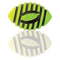 Balle - Frisbee NERF DOG Ballon spiral avec sifflet S - Pour chien