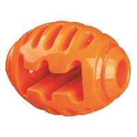 Balle - Frisbee Soft et Strong Ballon de rugby - TPR - 10 cm - Orange - Pour chien Trixie