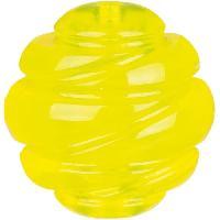 Balle - Frisbee TRIXIE Balle Sporting D 6 cm - Jaune - Pour chien