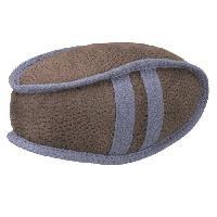 Balle - Frisbee TRIXIE Ballon de rugby 20 cm - Marron et bleu - Pour chien