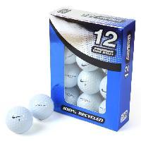 Balle De Golf 12 Balles de Golf Nike One Vapour - Blanc