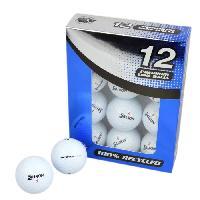 Balle De Golf 12 Balles de Golf Srixon Distance - Blanc
