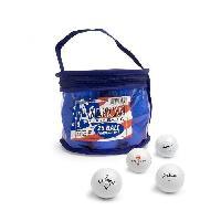 Balle De Golf 25 Balles de Golf en Pochette