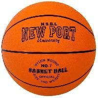 Ballon De Basket-ball NEW PORT Ballon de basketball - Orange - Generique