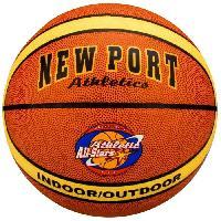 Ballon De Basket-ball NEW PORT Ballon de basketball - Taille 7 - Generique
