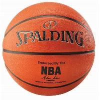 Ballon De Basket-ball SPALDING Ballon Basket-Ball NBA Orange