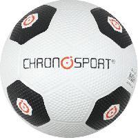 Ballon De Football Ballon de Foot T5 Caoutchouc Blanc et Noir