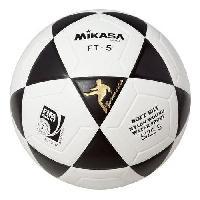 Ballon De Football Ballon de Football FT-5 - Blanc Noir - T5