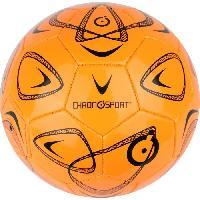 Ballon De Football CHRONOSPORT Ballon de Foot Loisir T4 Orange - 4 - Jeunes