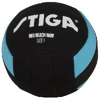 Ballon De Football Mini ballon de football Neo beach - Noir et bleu - Taille 1
