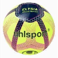 Ballon De Football UHLSPORT Ballon de Football Elysia Beach Soccer - Jaune. bleu et rouge - Taille 5