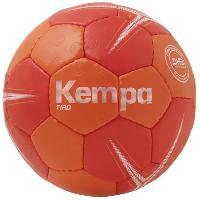 Ballon  De Handball KEMPA Ballon de handball Tiro - Rouge et orange - Taille 0