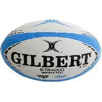 Ballon De Rugby GILBERT Ballon G-TR4000 TRAINER - Taille 4 - Bleu