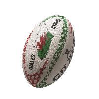 Ballon De Rugby GILBERT Ballon de rugby MASCOTTES - Pays de Galles Land of my fathers - Taille 5