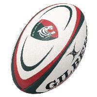 Ballon De Rugby GILBERT Ballon de rugby REPLICA - Leicester - Taille Midi