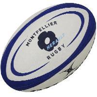 Ballon De Rugby GILBERT Ballon de rugby REPLICA - Montpellier - Taille 5