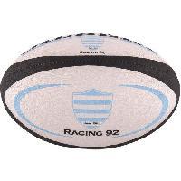 Ballon De Rugby GILBERT Ballon de rugby REPLICA - Racing 92 - Taille Mini